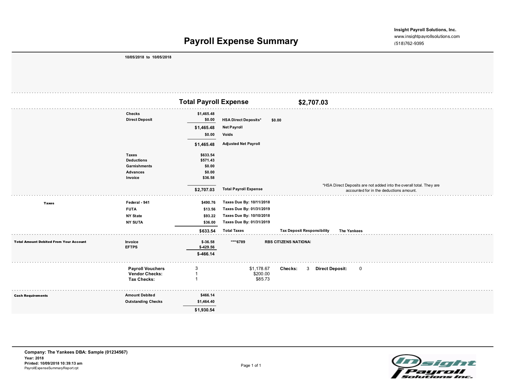 Payroll - Insight Payroll Solutions