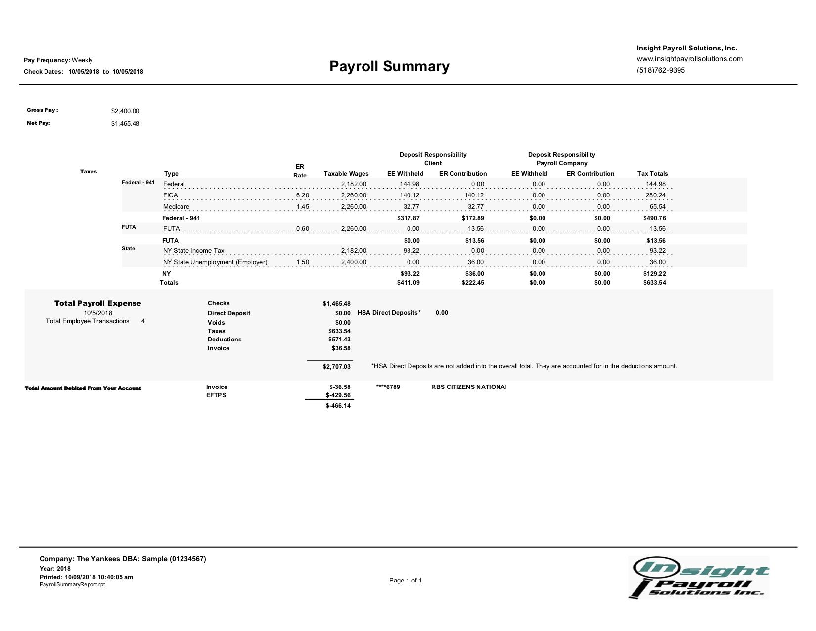 Payroll - Insight Payroll Solutions